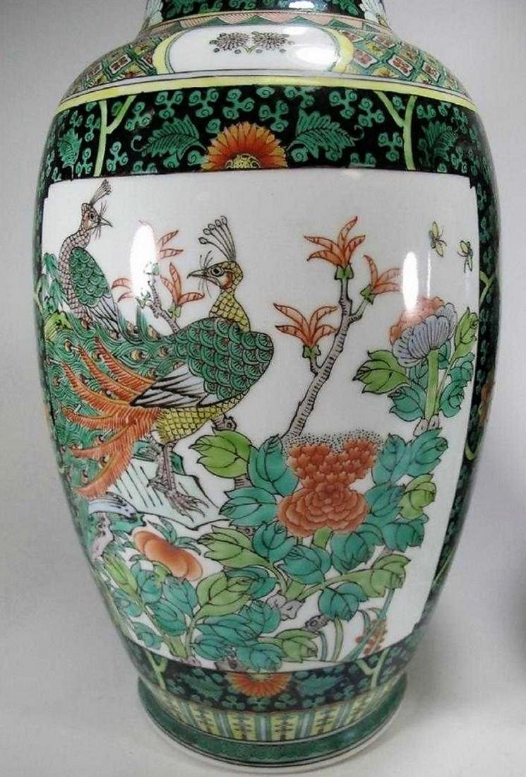 Great pair of Chinese porcelain vases - 2