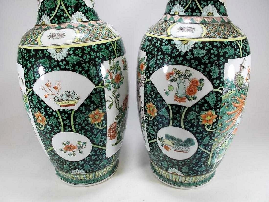 Great pair of Chinese porcelain vases - 3