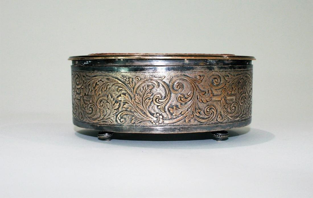 Antique French Bronze Trinket box Egyptian Revival - 2