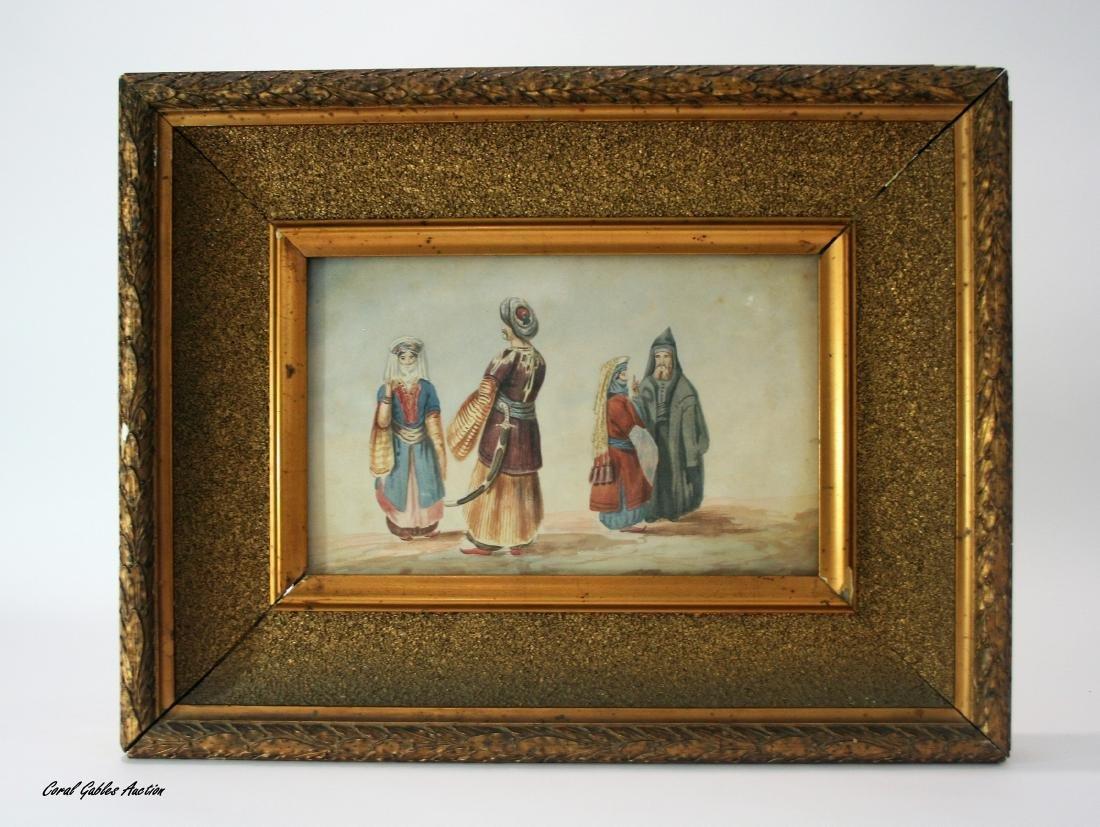 Watercolor 19th century.