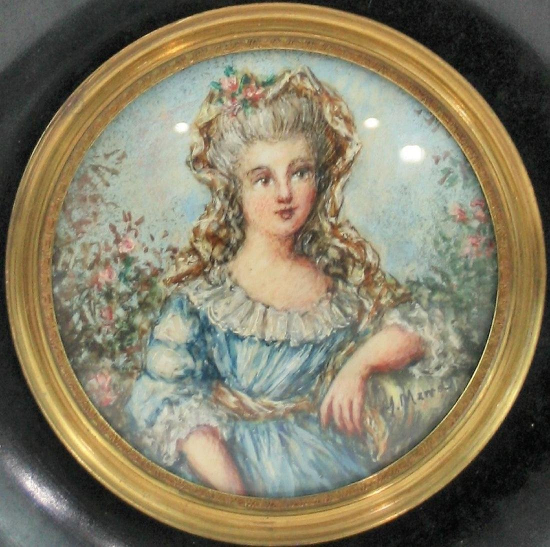 Miniature of the 19th or 20th century - 2