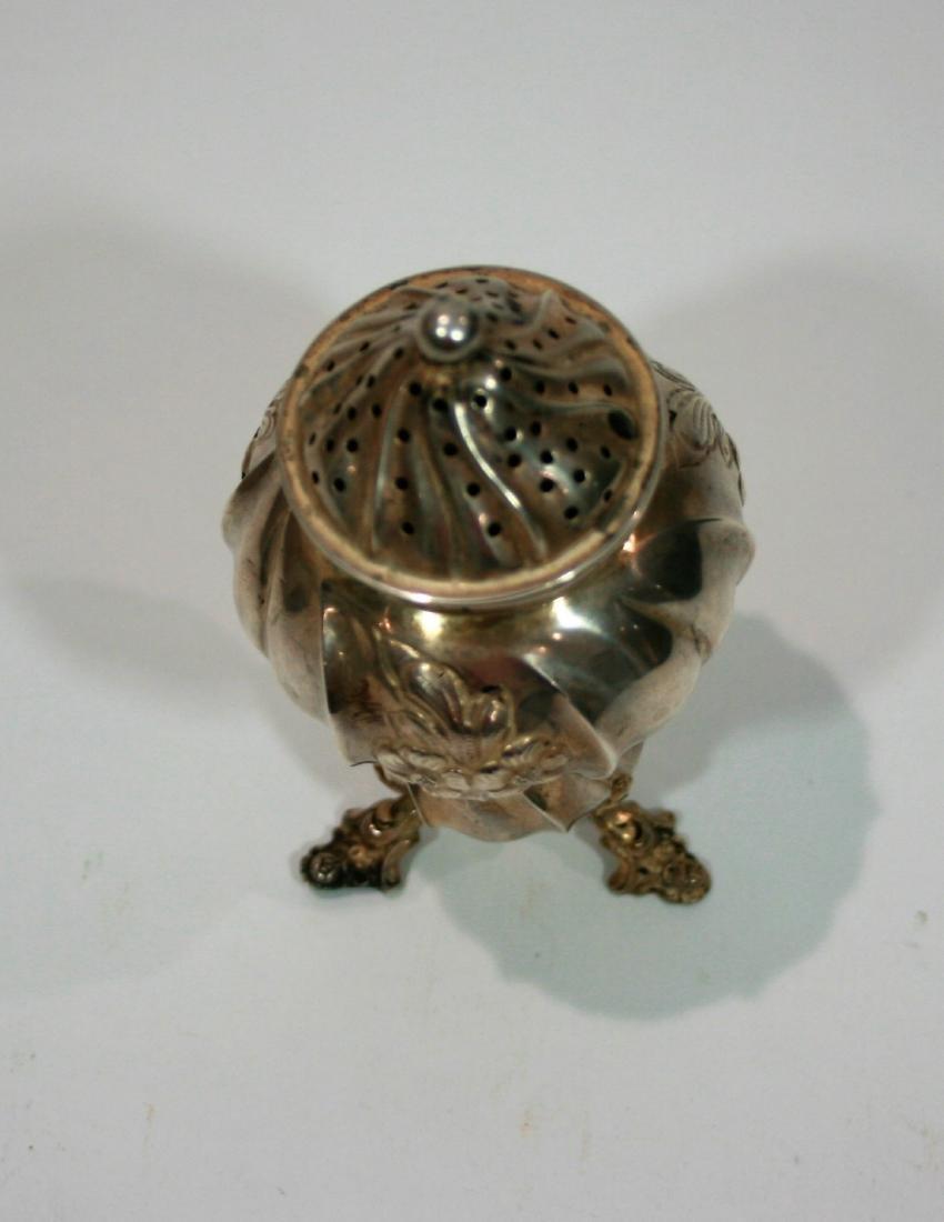 Sterling silver salt shaker - 2