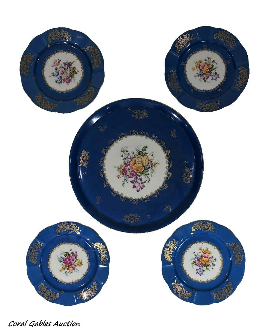Set of dishes sevres