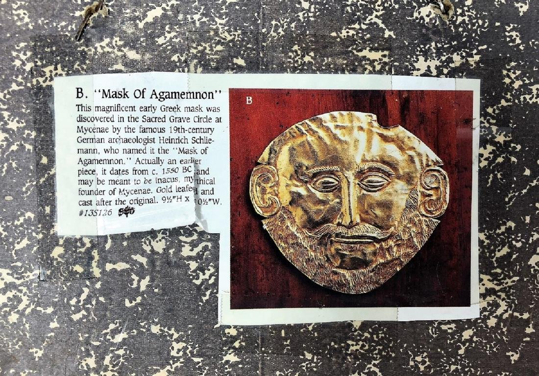 "B. "" Mask of Agamemnon"" - 2"