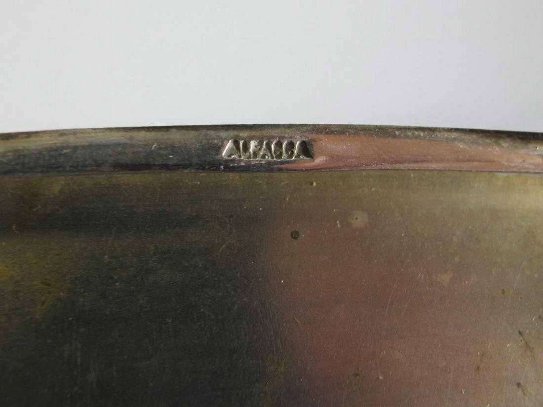 Market Alpacca enamel vintage cigarettes case - 4