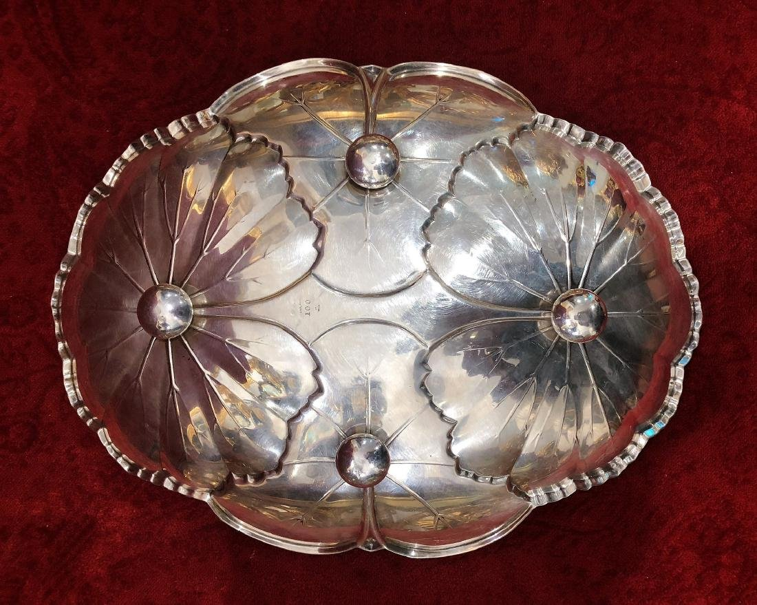 1950 Sterling Silver  Tray - 3