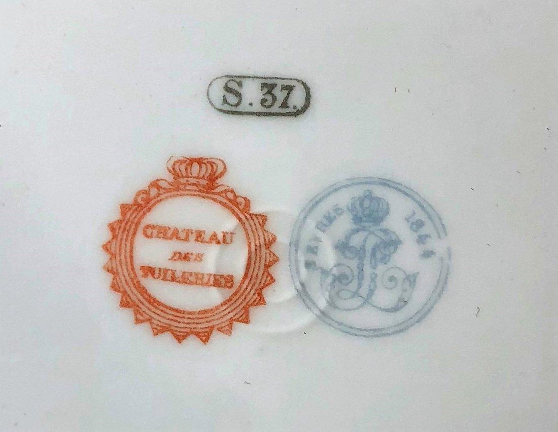 Antique French Sèvres  Porcelain Plate - 3