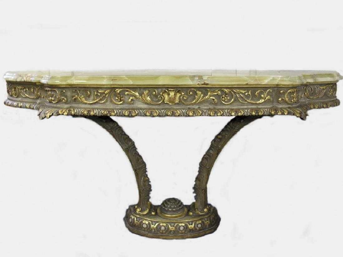 Antique French Louis XV style console table