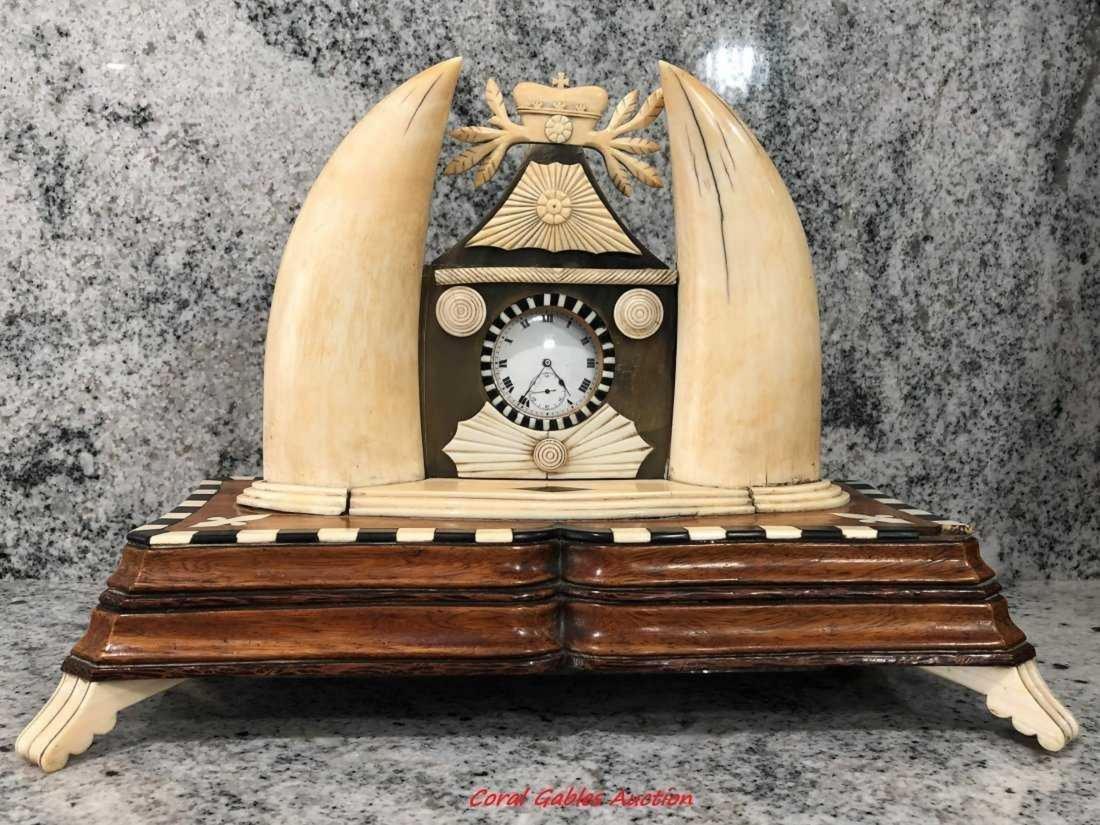 Rare piece of antique clock