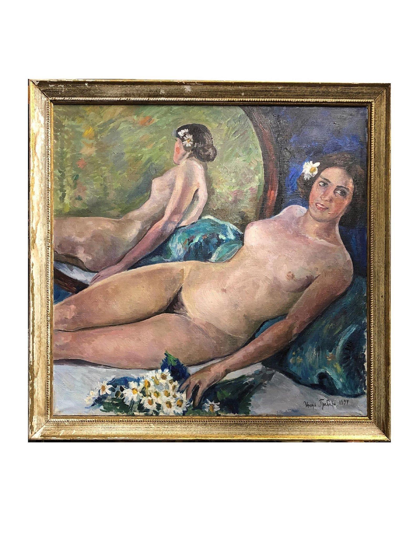 After Igor Emmanuilovich Grabar  (1871 - 1960). Russian