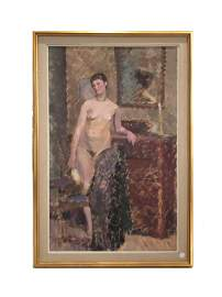 Alfred William Finch, Standing Female Nude
