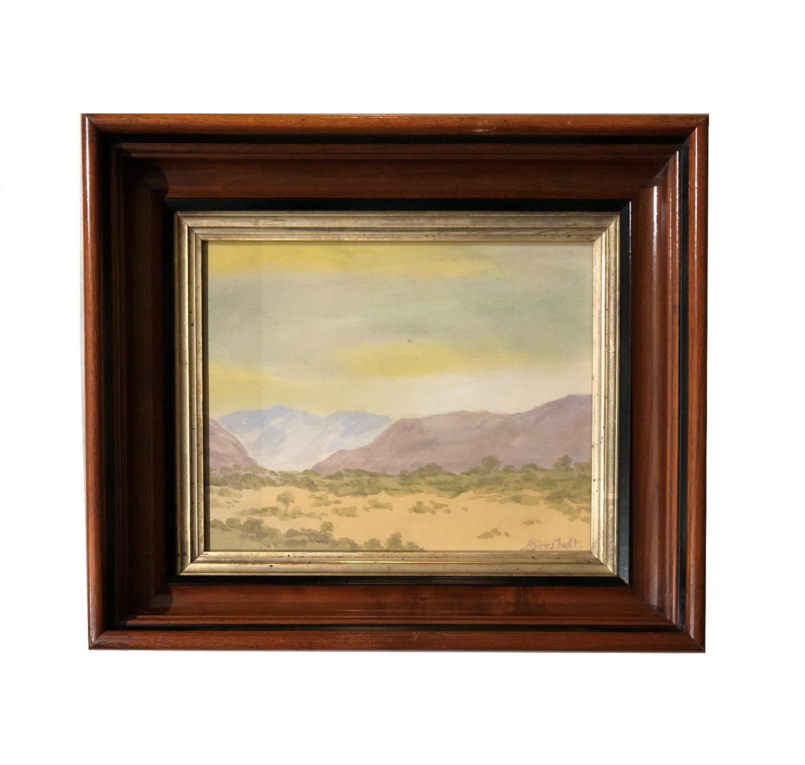 Albert Bierstadt  (1830 - 1902) American
