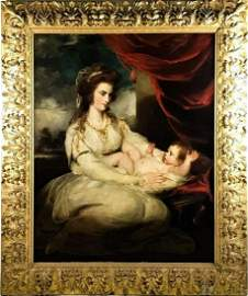 18th C Portrait Painting after Sir Joshua Reynolds
