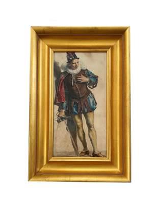 Eugene (Ferdinand Victor) Delacroix (1798 - 1863)