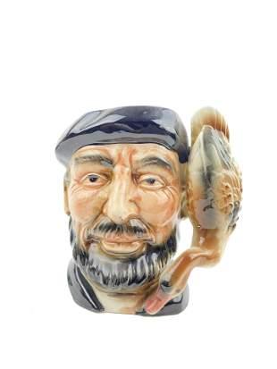 Vintage Mug Porcelain Jar