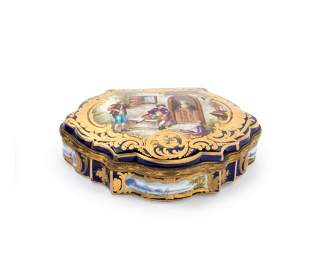 19 Century French Sevres Porcelain Box