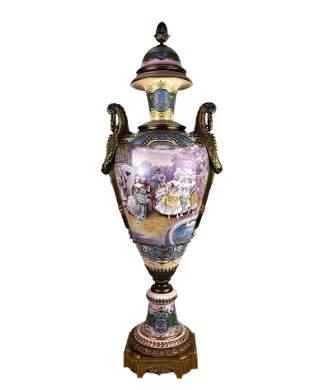 Antique 19th Century French Palace Urn Vase