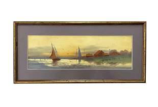 William Lionel Wyllie (1851 - 1931) English Artist