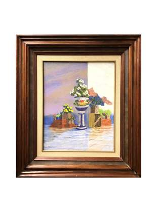 Jorge R. Fierro. Mexican. Oil on Canvas
