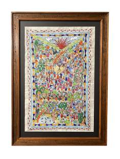 Unknown Mexican Amate Artist