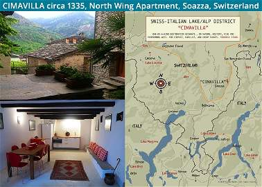 CIMAVILLA, North Wing Apartment, Soazza Switzerland