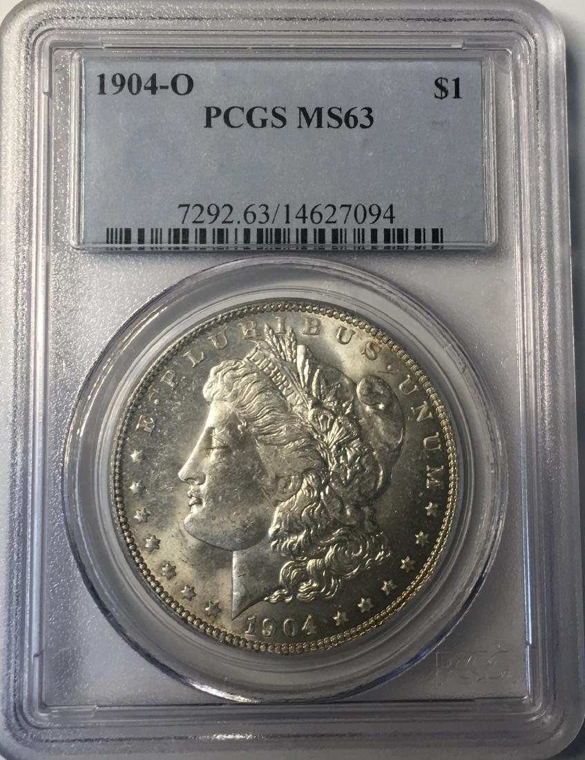 1904-O PCGS MS63 Morgan Silver Dollar