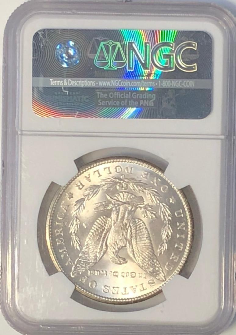 1899 O NGC MS63 Morgan Silver Dollar - 2