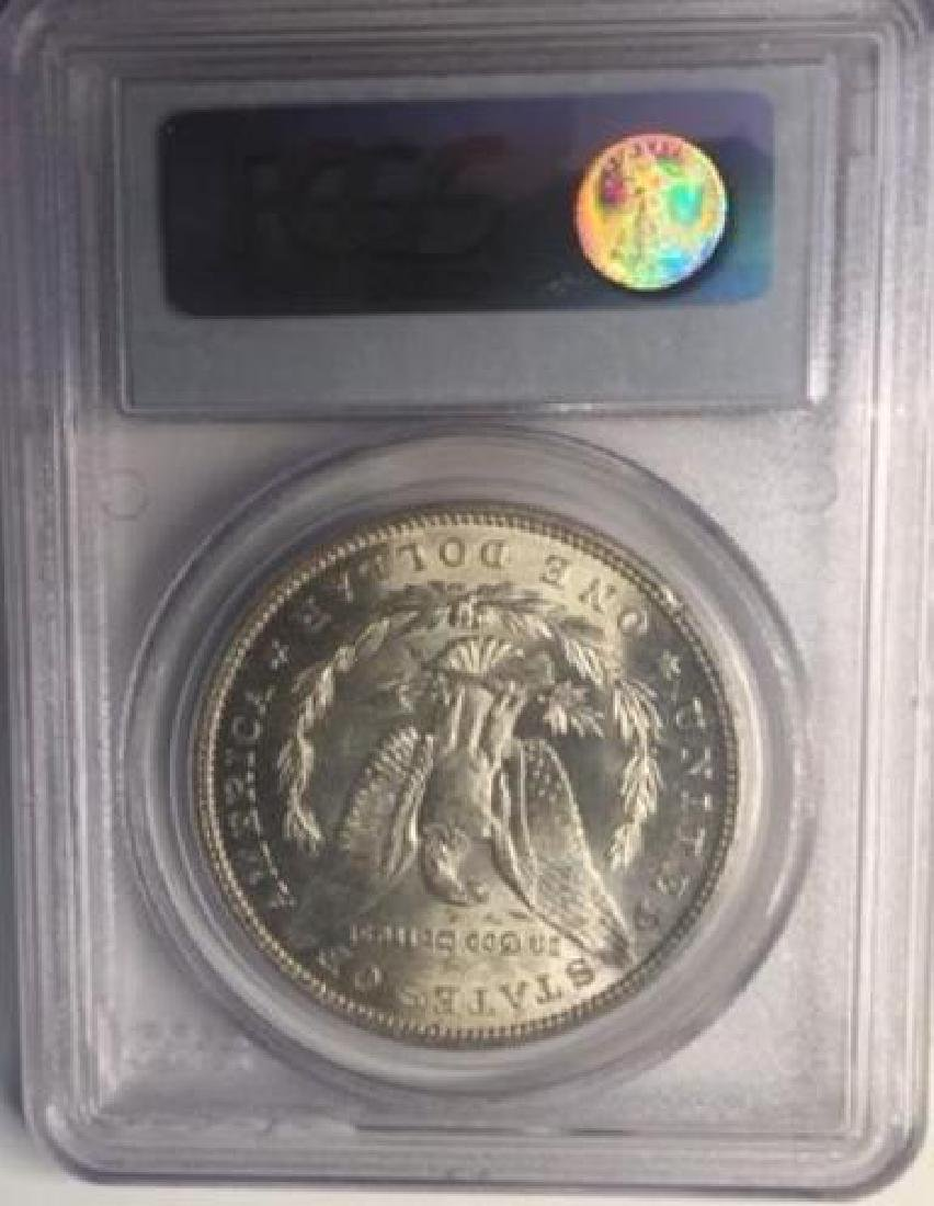 1896 PCGS MS63 $1 Morgan Silver Dollar - 2