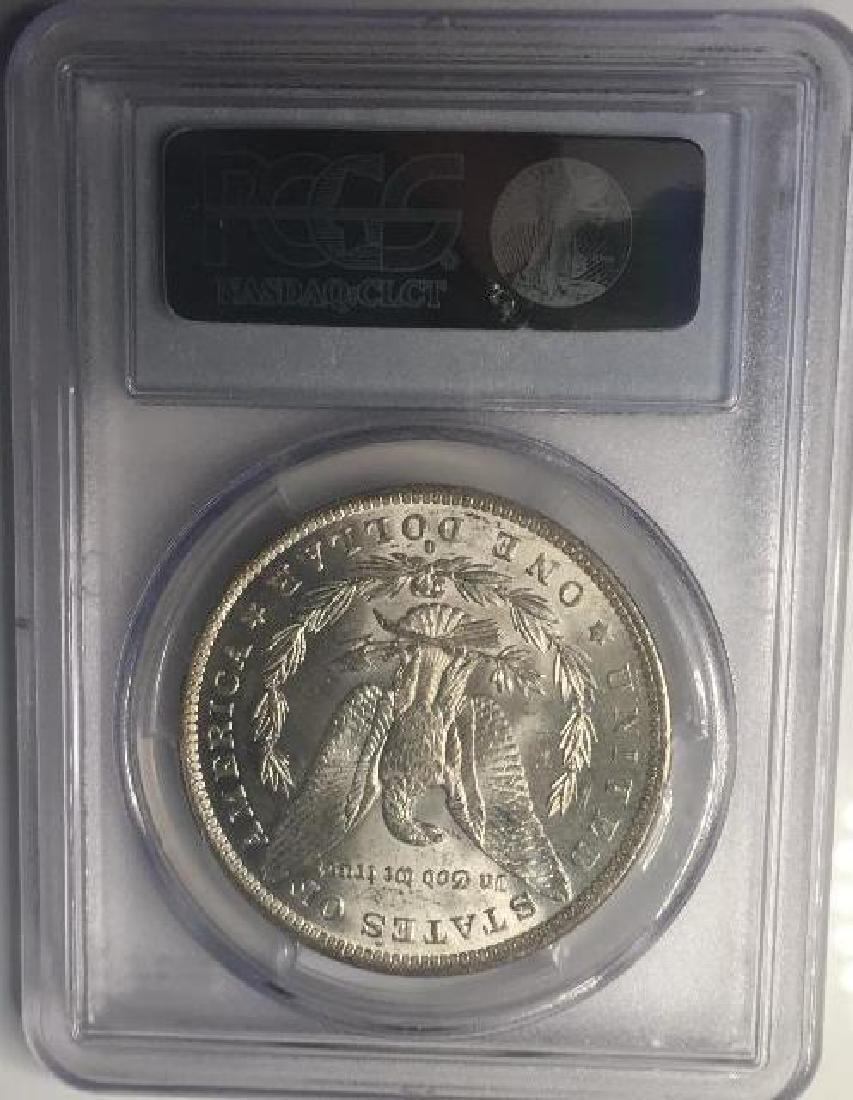 1884-O PCGS MS63 $1 Morgan Silver Dollar - 2