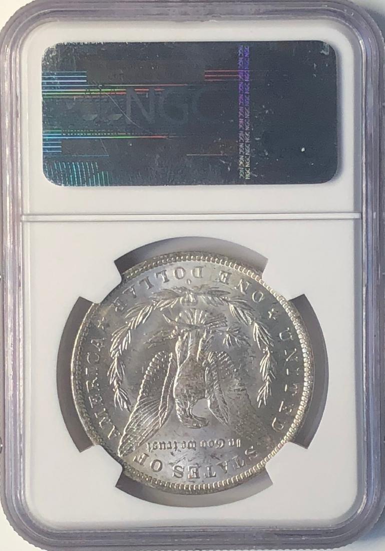 1882-O NGC McClaren Collection MS62 $1 Morgan Silver - 2
