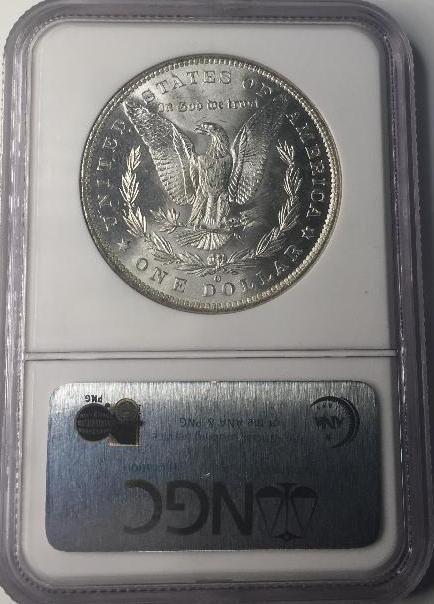 1885 O NGC MS64 Morgan Silver Dollar - 2
