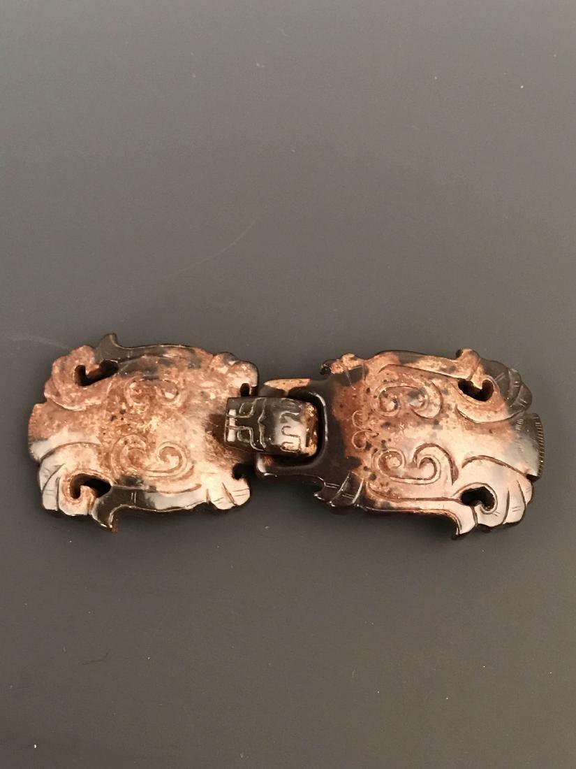 Chinese Jade Belt Hook - 2