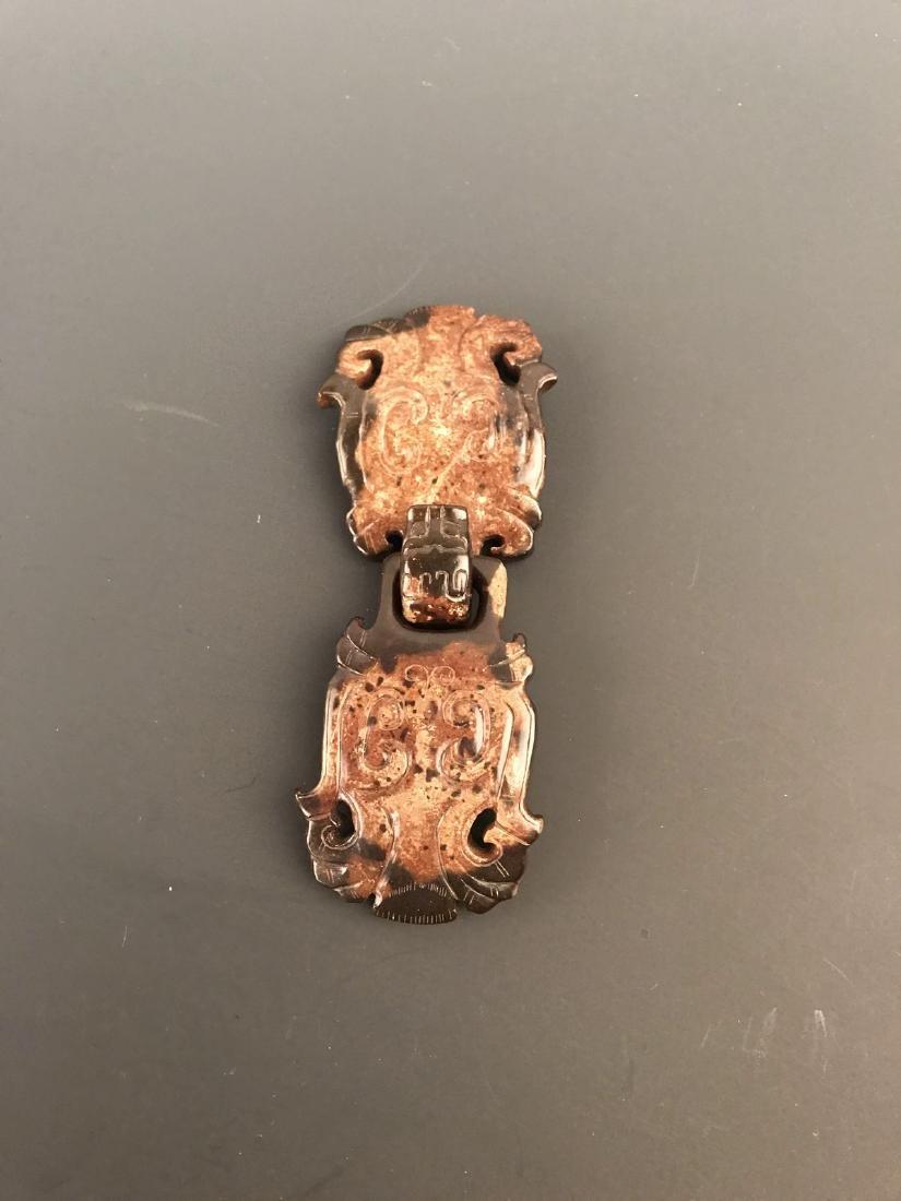 Chinese Jade Belt Hook - 3