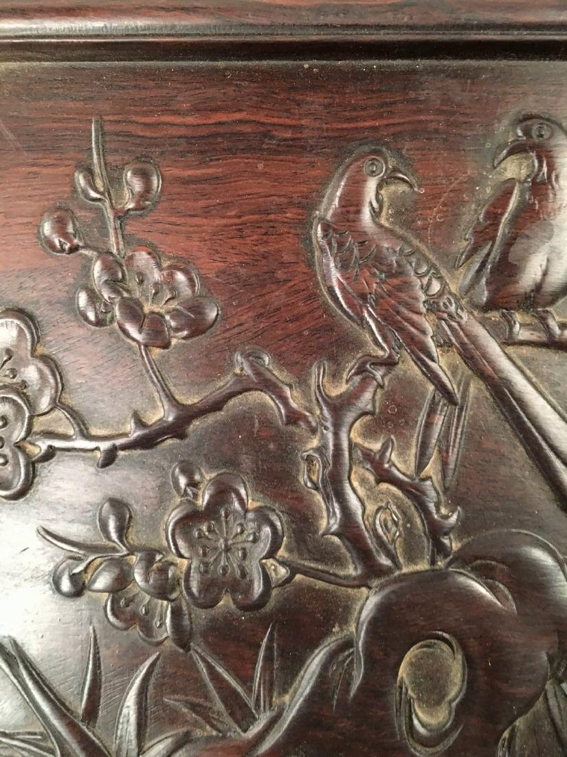 Chinese Hard Wood Tea Tray - 5