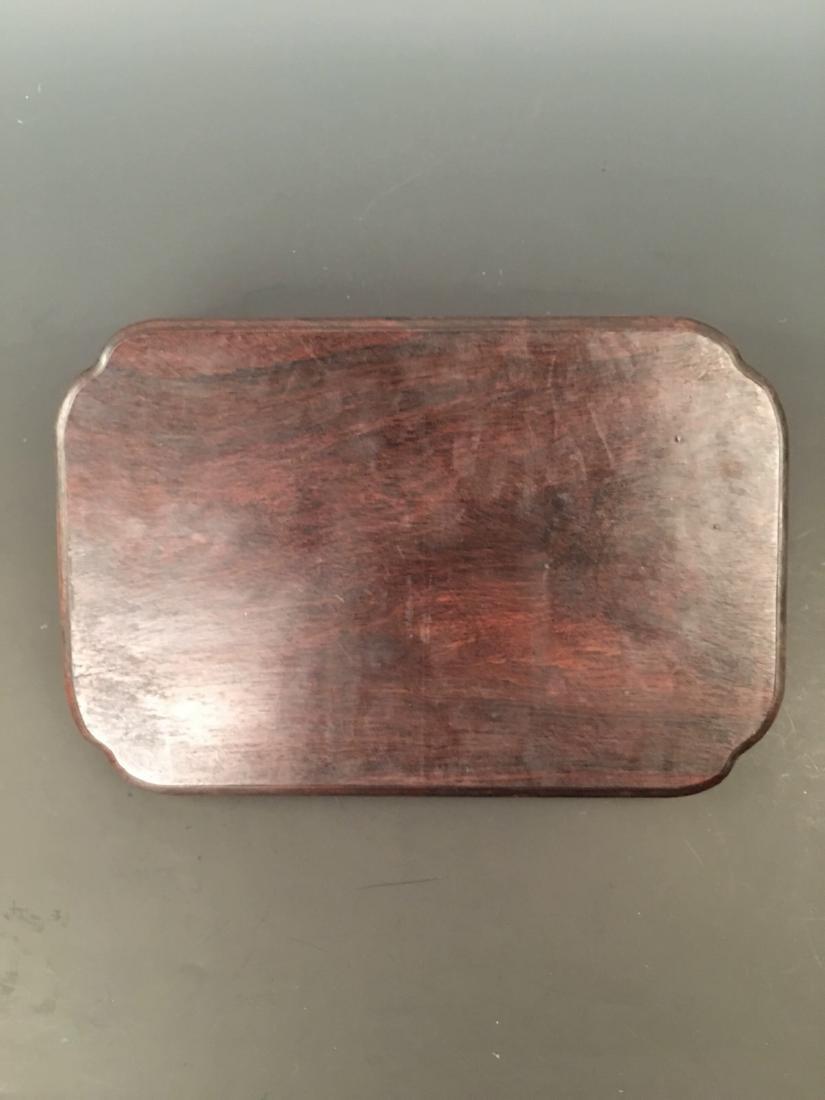 Chinese Hard Wood Tea Tray - 6