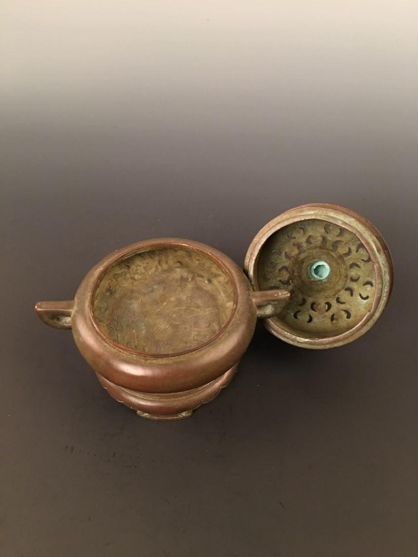 Bronze Incense Burner - 4