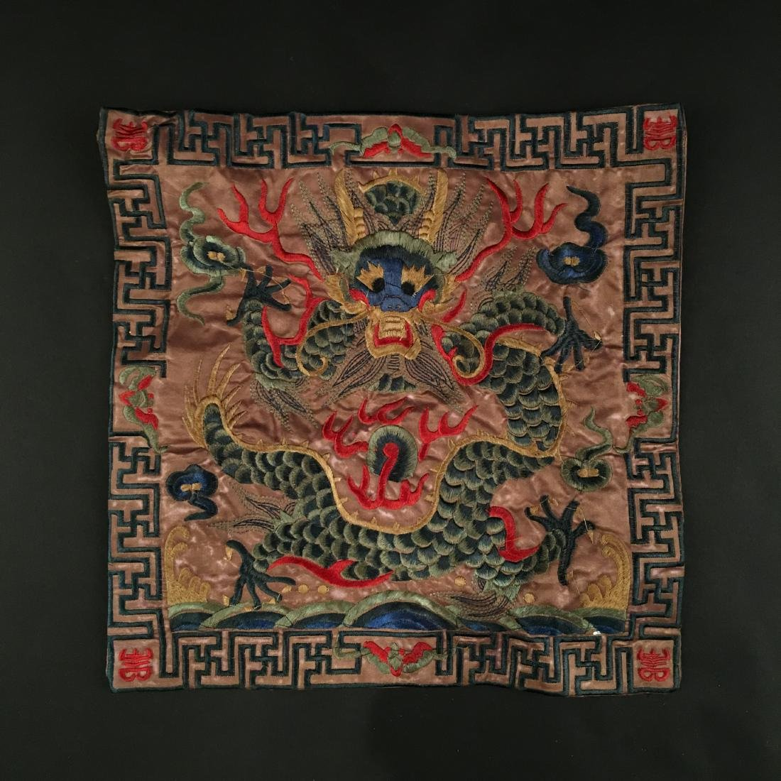 Chinese Embroidery Silk 'Dragon'