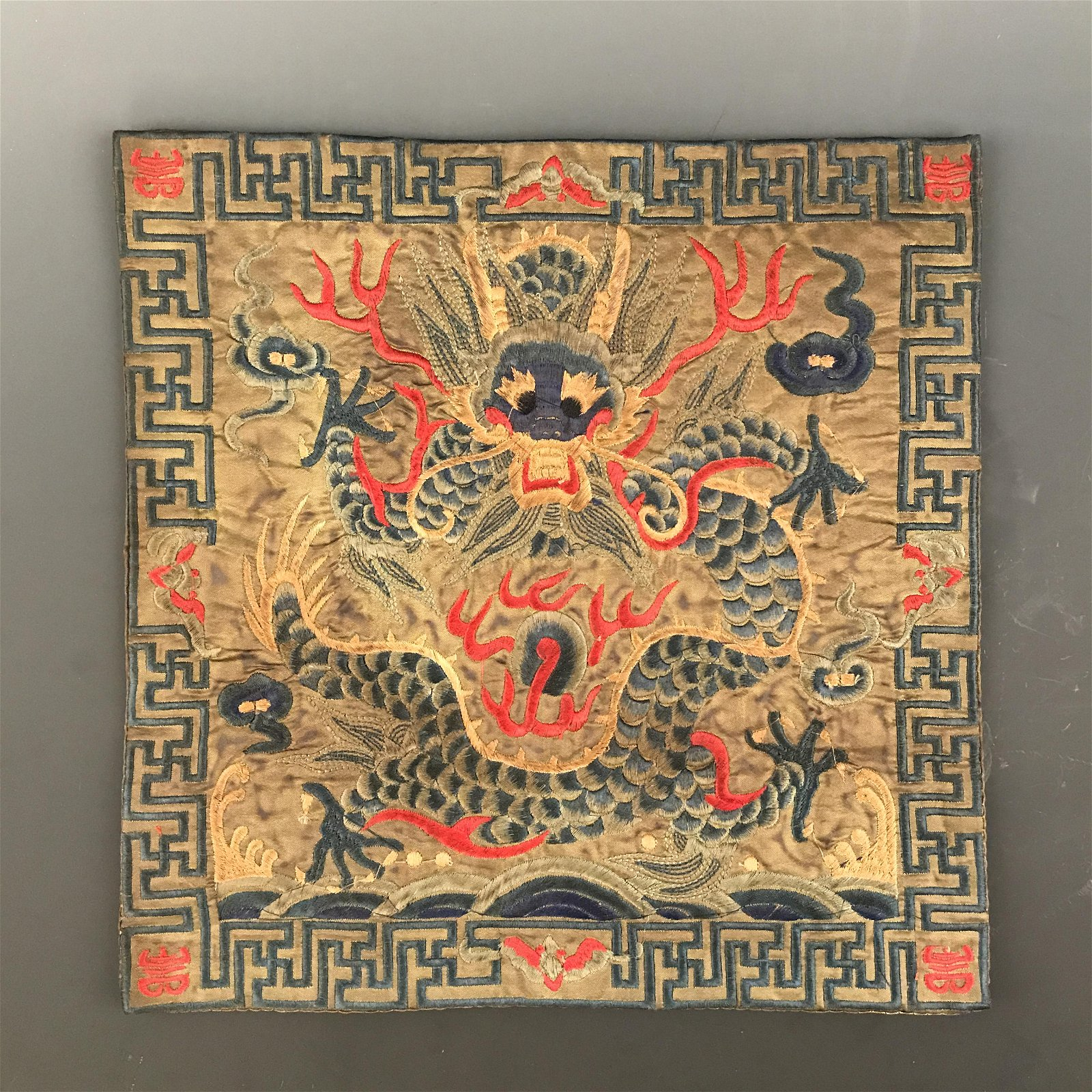 Chinese Chinese Embroidery Silk 'Dragon'