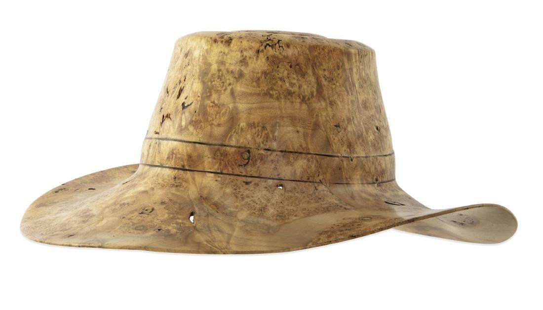 A Johannes Michelsen burl red maple hat, 1992