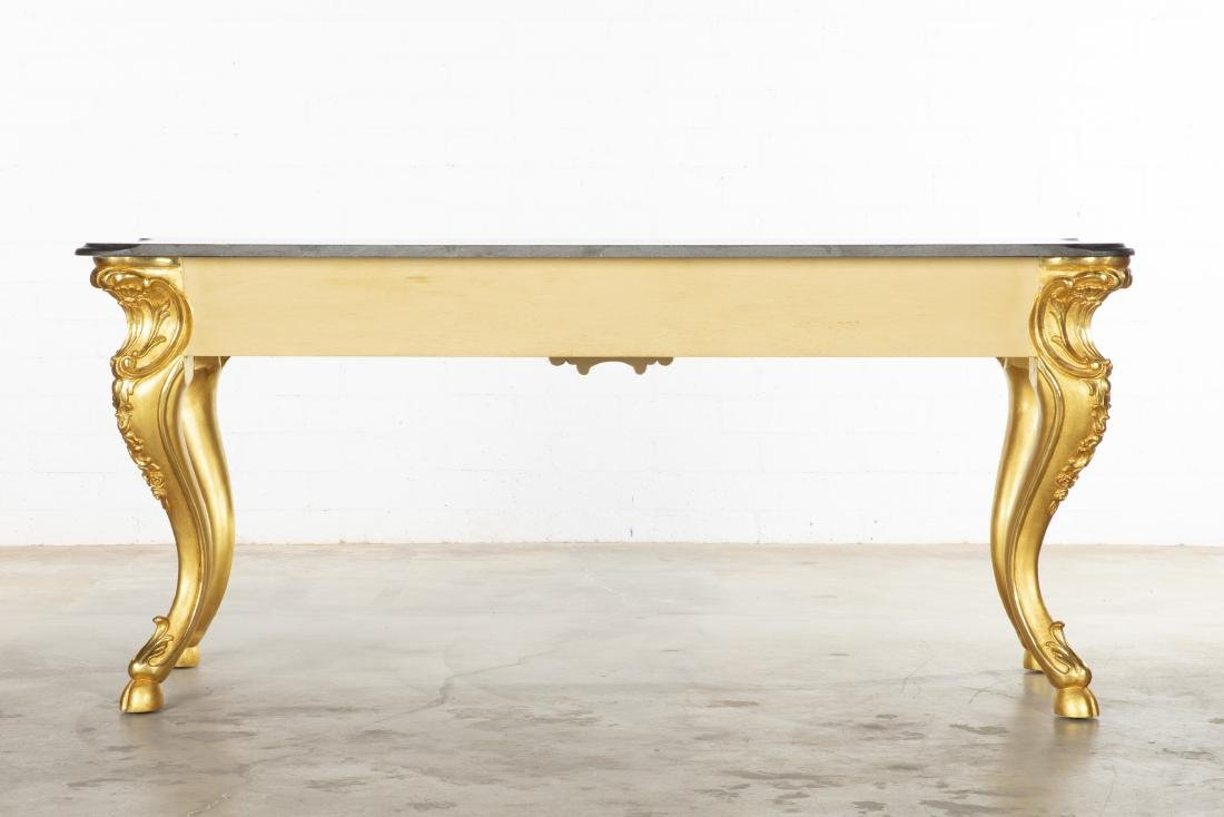 A Rococo style giltwood console table modern - 2