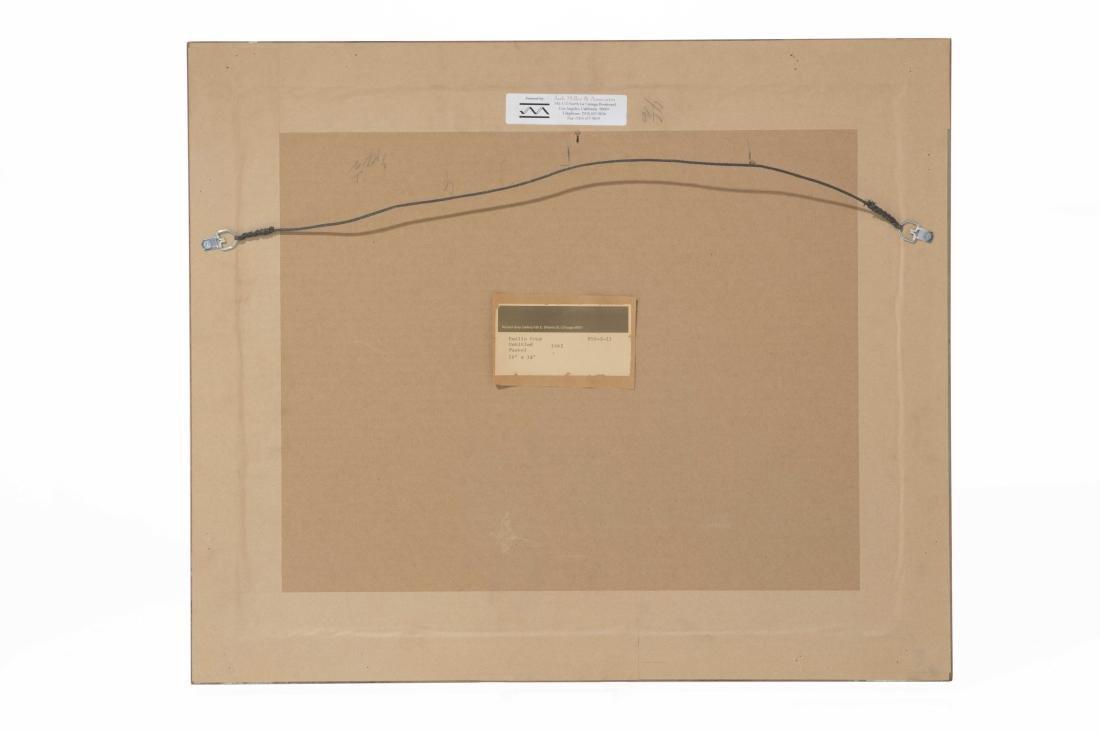 Emilio Cruz, Abstract Figures, pastel on paper - 4