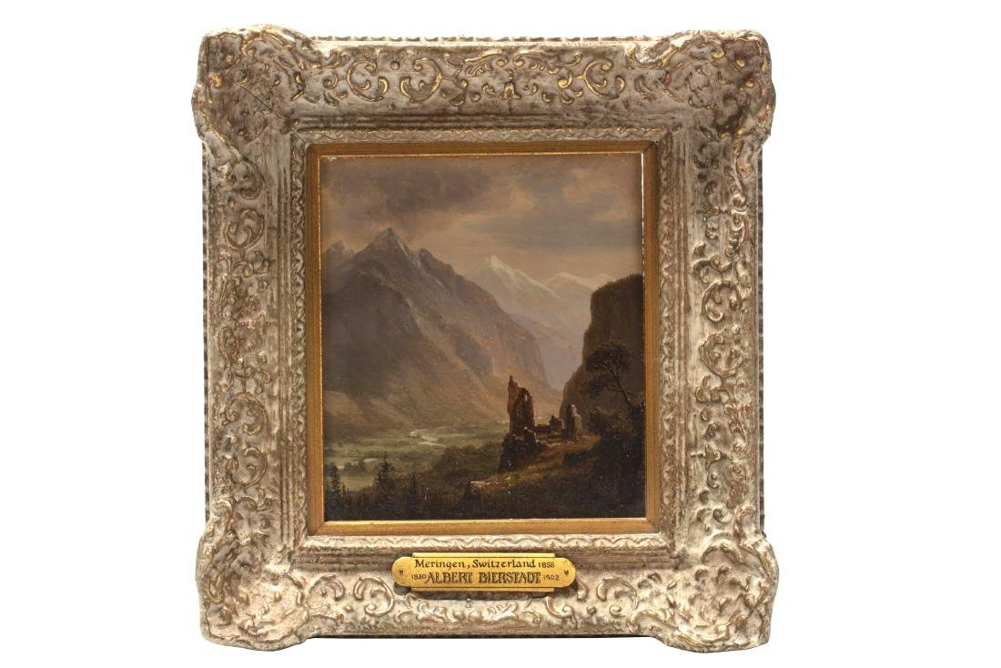 Albert Bierstadt, Valley of Meiringen Switzerland - 2