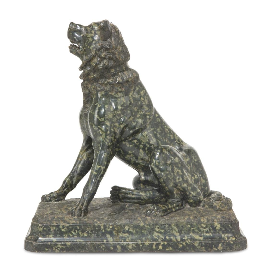 An Italian serpentine Dog of Alcibiades