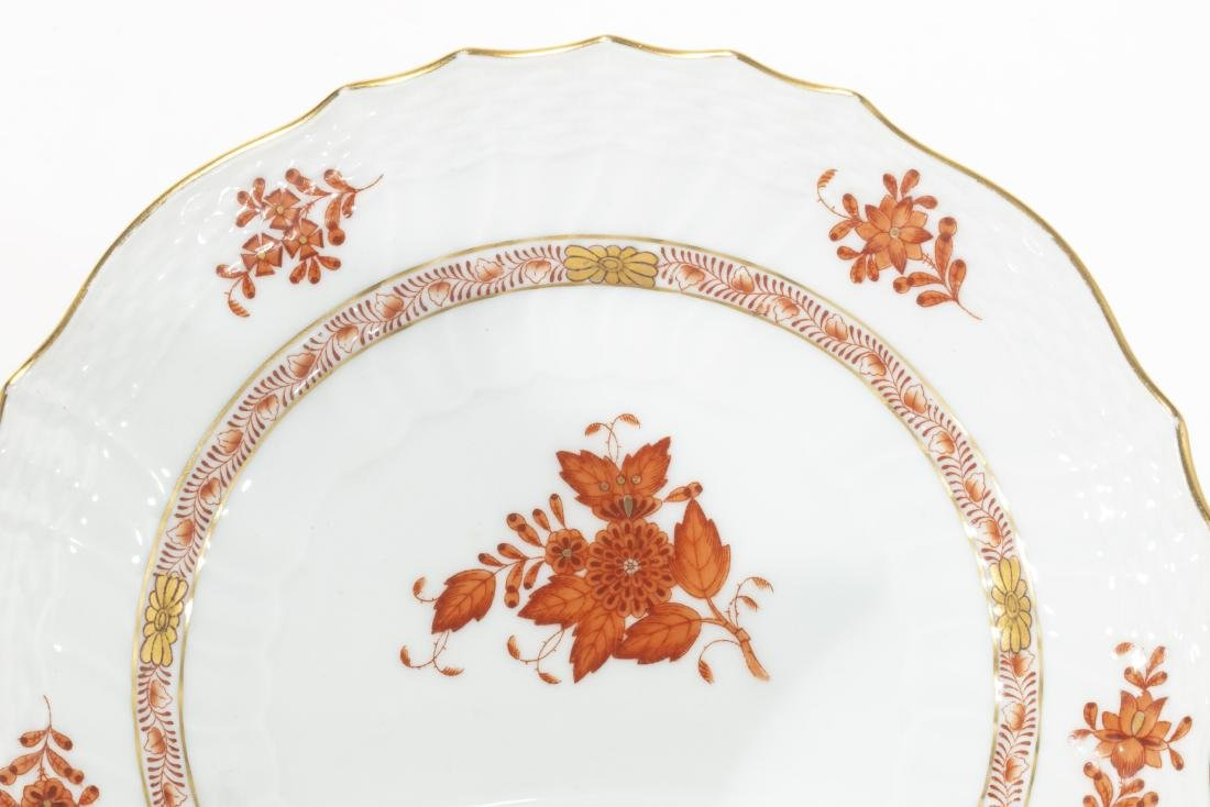 Herend porcelain Chinese Bouquet Rust articles - 2