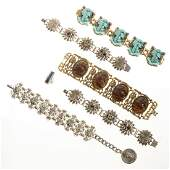 Collection of Egyptian Revival costume jewelry