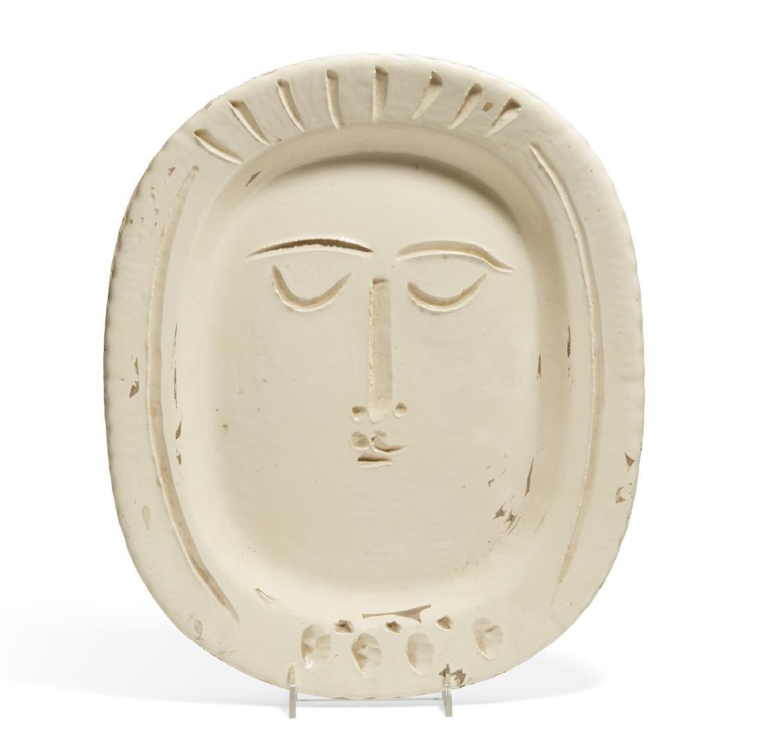 Pablo Picasso, ceramic, Visage de Femme