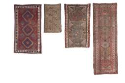 A group of four rugs