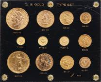 Approximately 12 U. S. gold Type set