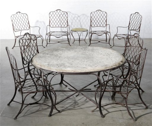 Miraculous A Suite Of Rose Tarlow Twig Garden Furniture Gmtry Best Dining Table And Chair Ideas Images Gmtryco