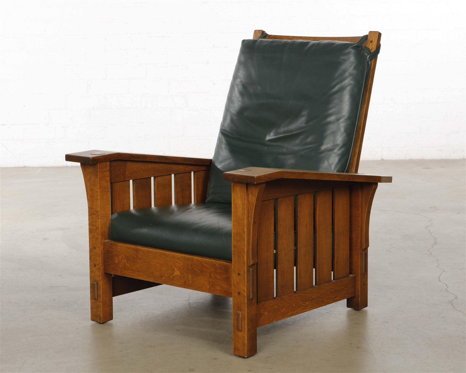 Outstanding Warren Hile Studio Mission Style Oak Morris Chair Alphanode Cool Chair Designs And Ideas Alphanodeonline
